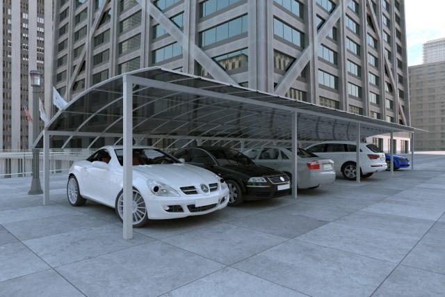 Στέγαστρο Αυτοκινήτων CP4