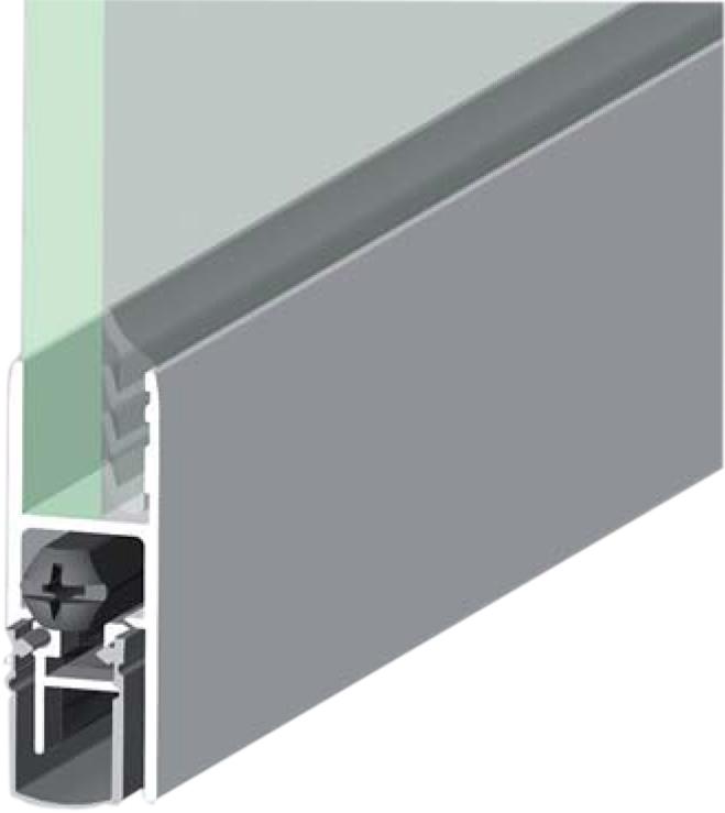 Shall Ex GS Η8-12 για γυάλινες πόρτες