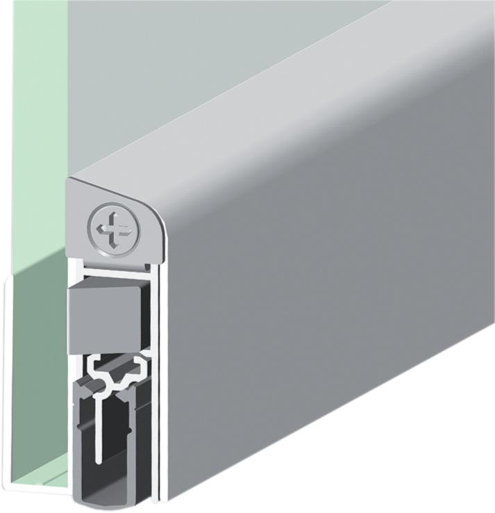 Shall Ex GS για γυάλινες πόρτες