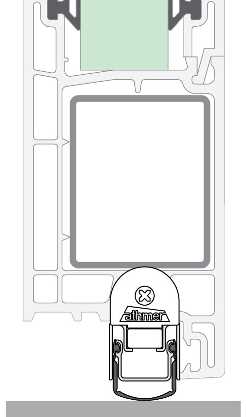 Stadi L για πόρτες μεταλλικές, αλουμινίου, PVC