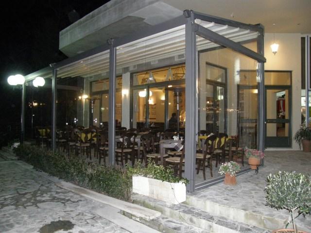 Ανοιγόμενη πέργκολα Pergotenda Palladia